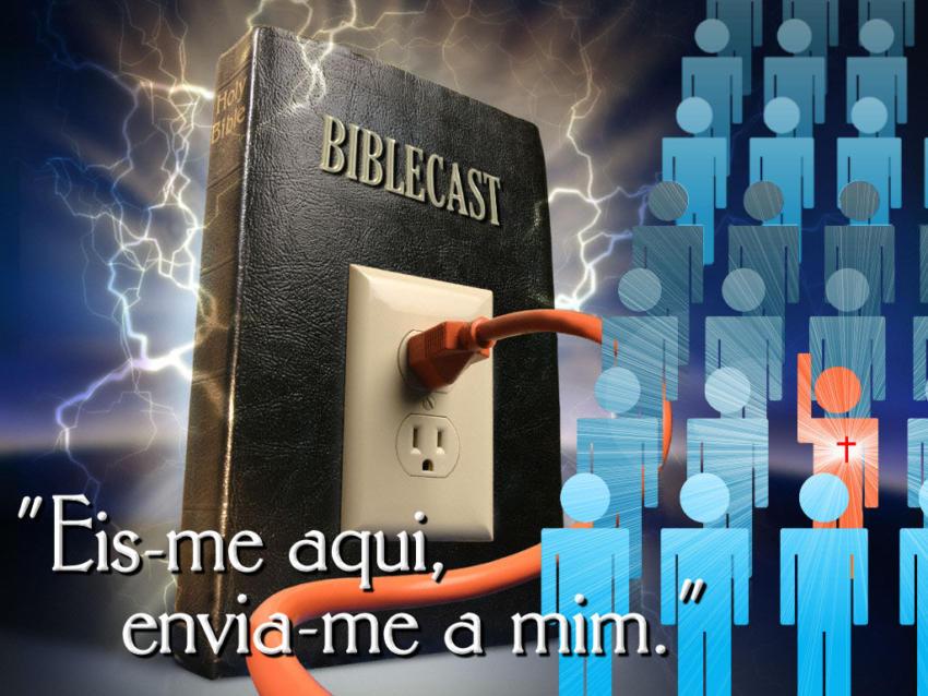 Capa do BibleCast #10: Eis-me aqui, envia-me a mim!