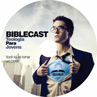 Adesivo para mídia do DVD do BibleCast